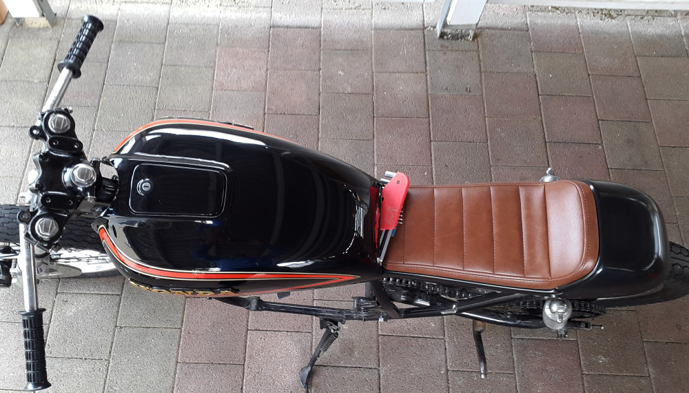Anpassen Der Sitzbank 550moto Cafe Racer Blog