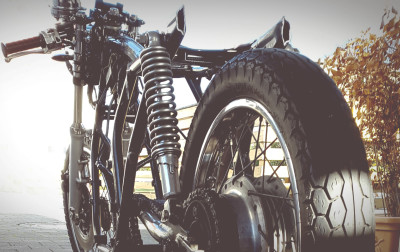 Kürzen Heckrahmen Honda CB 550 K3 Cafe Racer