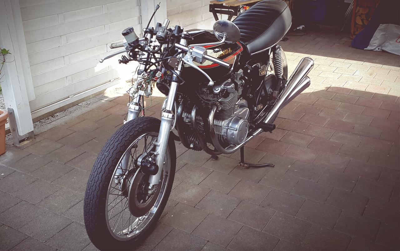 Honda CB 550 four K3 Fehling Stummellenker