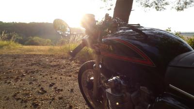 Honda CB 550 K3 Cafe Racer 550moto