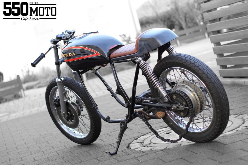Honda CB 550 K3 Cafe Racer