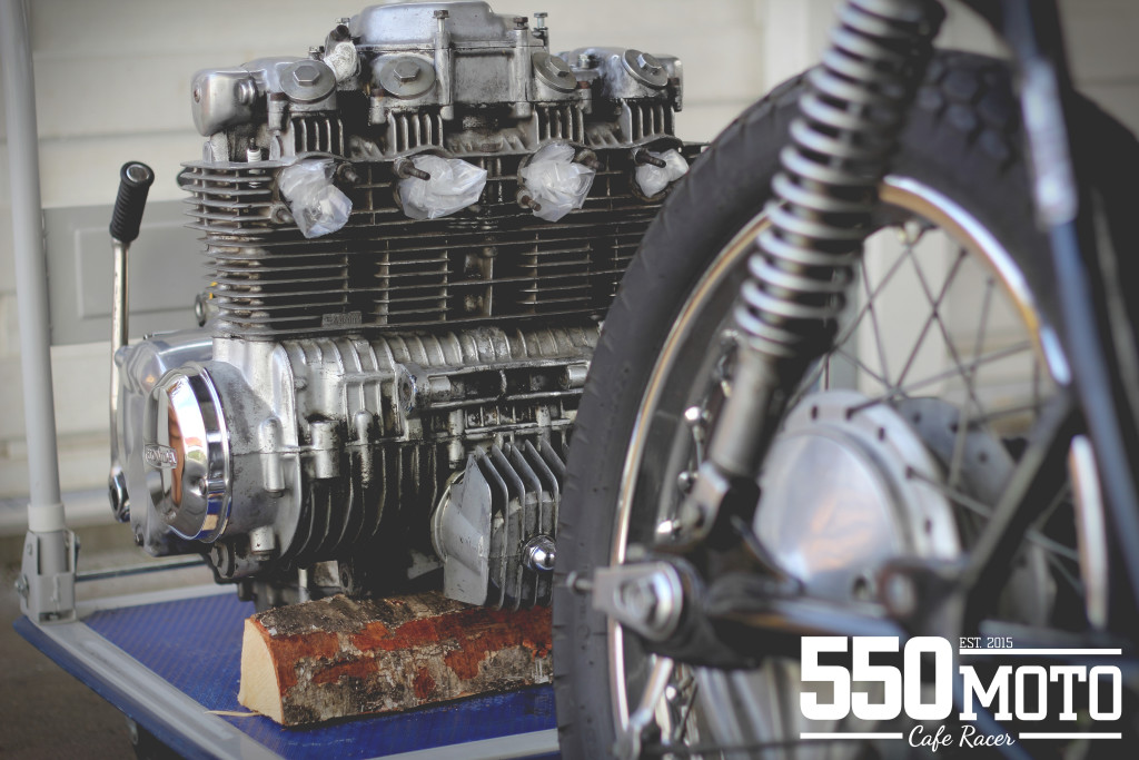 Marving Racing Honda CB 550 Cafe Racer 550moto