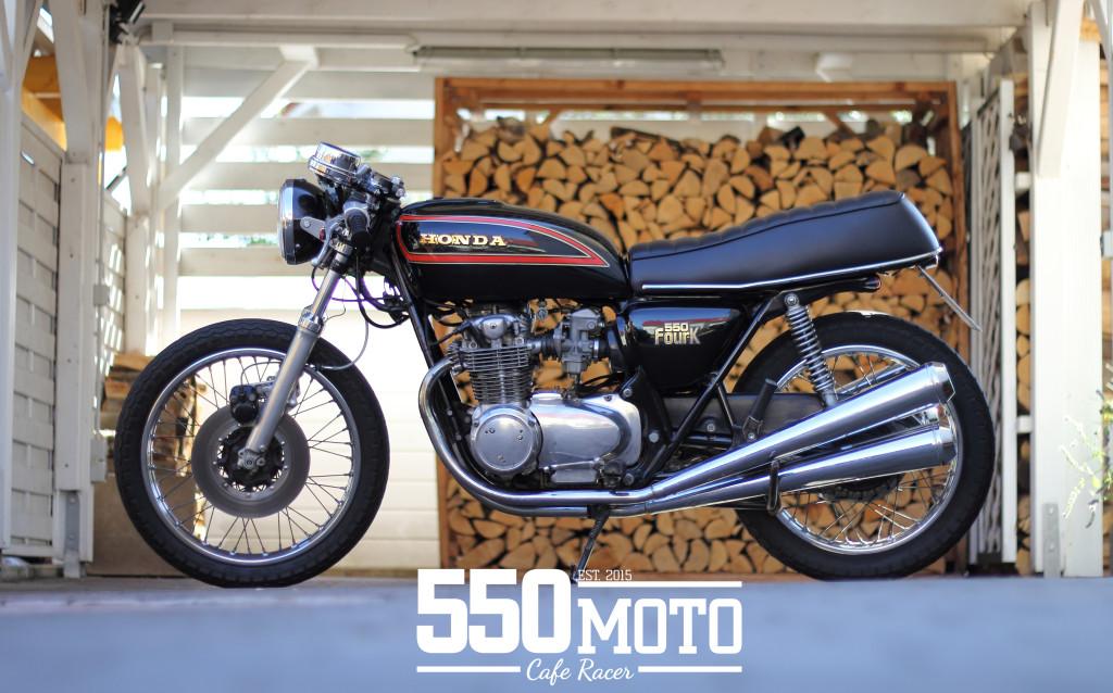 Honda CB 550 Cafe Racer 550moto