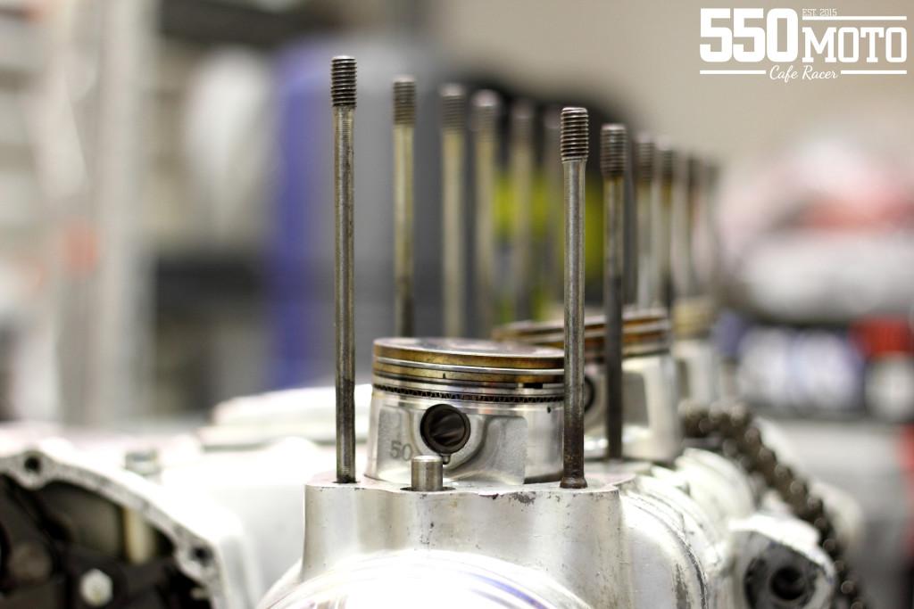 Honda CB 550 K3 Cafe Racer Motor Engine