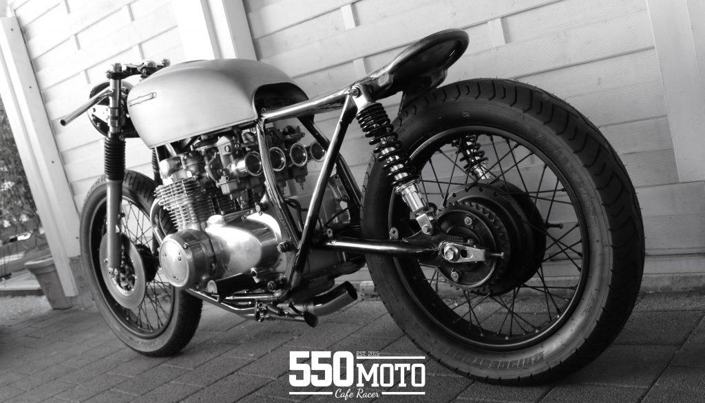 Honda CB 550 K3 Cafe Racer 550 Moto 5