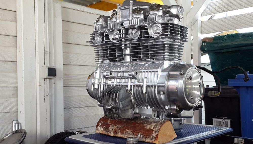 Honda CB 550 K3 Cafe Racer Motor 2