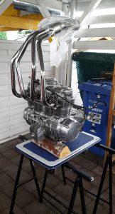 Honda CB 550 K3 Cafe Racer Motor 3