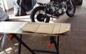 Honda CB 550 K3 Cafe Racer Sitzbank 2