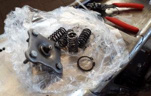 Honda CB 550 Kupplungsfedern Druckplatte Cafe Racer 550 Moto