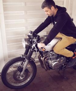 Honda CB 400 Cafe Racer 550 Moto