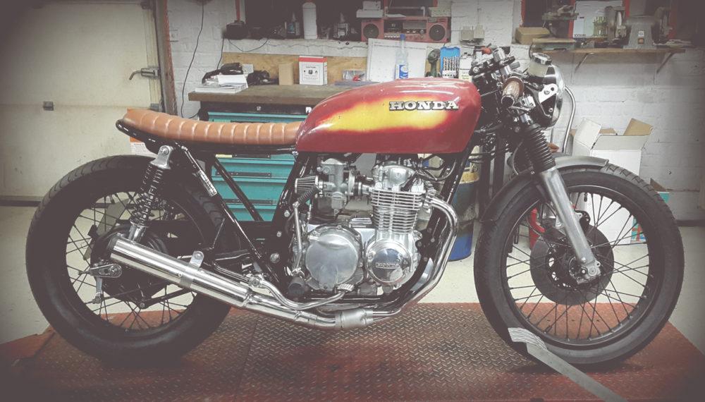 Honda CB 550 K3 Cafe Racer Brat 550 Moto