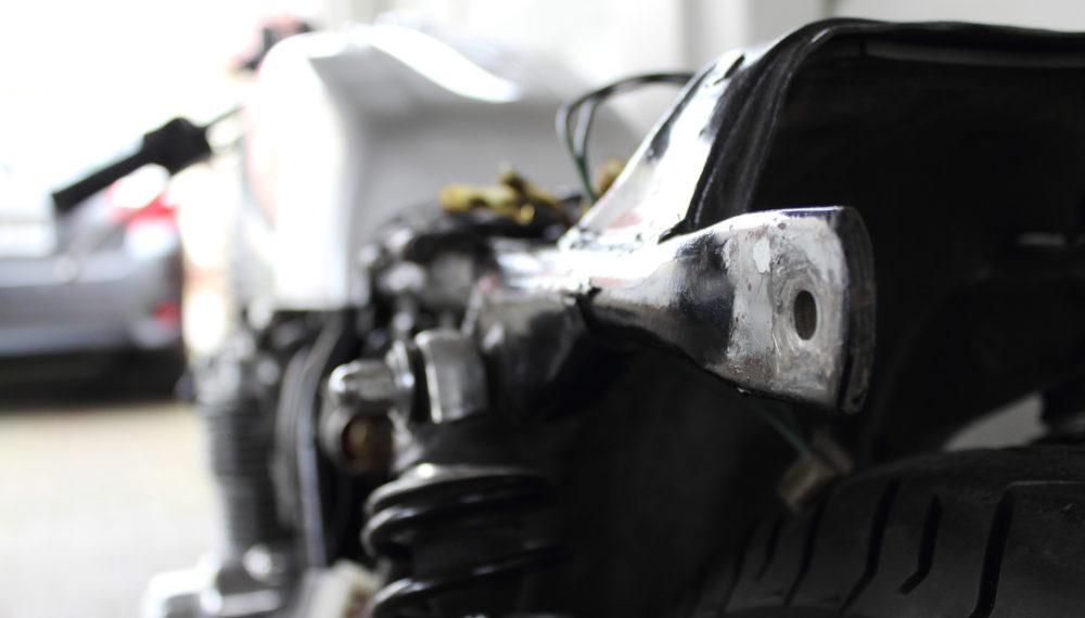 Honda CB 400 four Cafe Racer 9