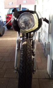 Honda CB 400 four Cafe Racer Halbschalen Verkleidung AVON Style 2 550moto