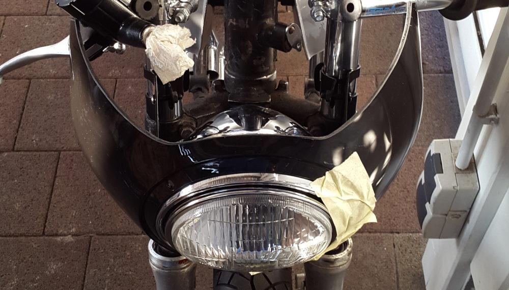 Honda CB 400 four Cafe Racer Halbschalen Verkleidung AVON Style 550moto