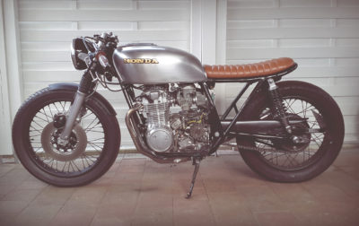 Honda CB 550 K3 Cafe Racer by 550moto