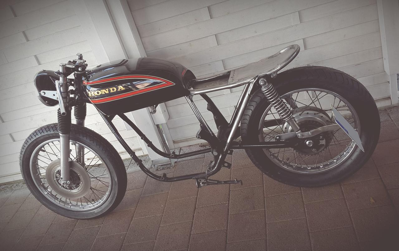 TÜV Eintragungen Motorrad Heck kürzen