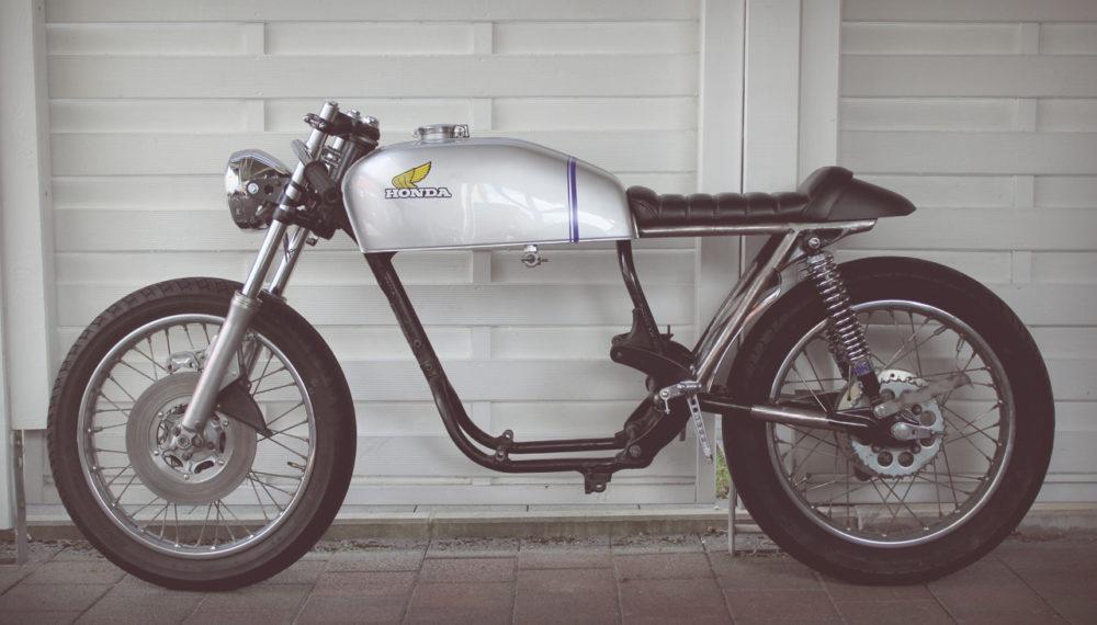 Honda CB 400 four Cafe Racer 5 by 550moto