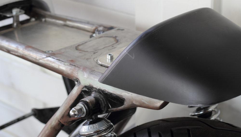 Honda CB 400 four Cafe Racer Höcker 4 by 550moto