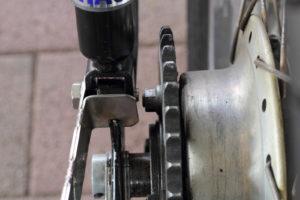 Honda CB 400 four Cafe Racer Hagon Shocksby 550moto