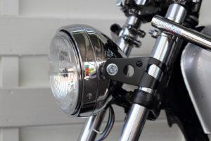 Honda CB 400 four Cafe Racer Scheinwerfer Headlight by 550moto