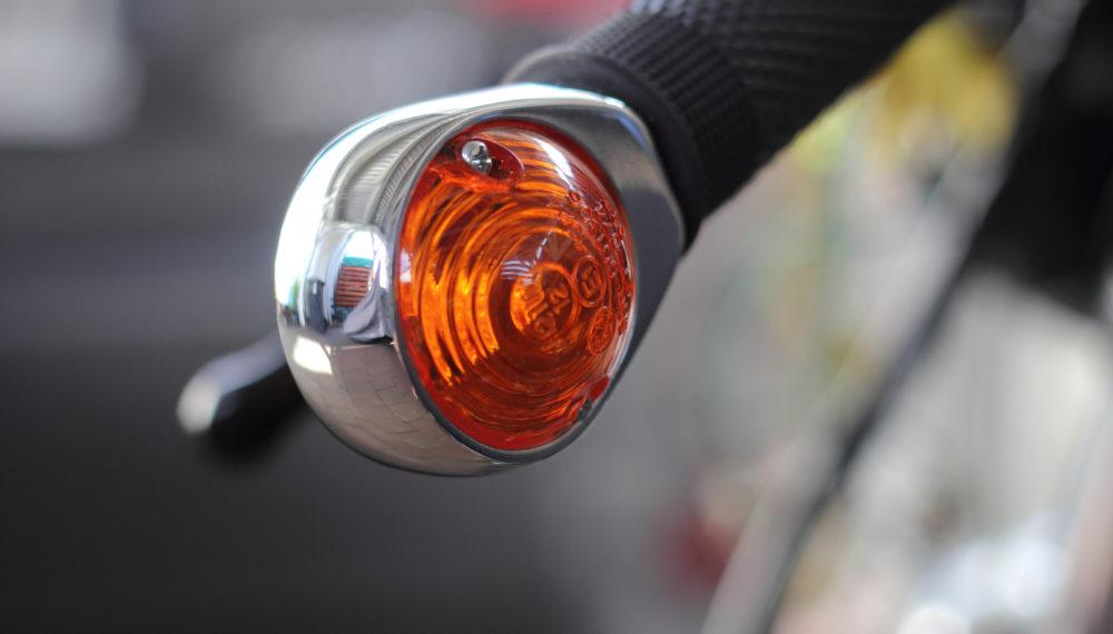 Honda CJ 250 t Cafe Racer Blinker Ochsenaugen by 550moto