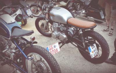Honda CB 550 Cafe Racer 550moto Darmstadt