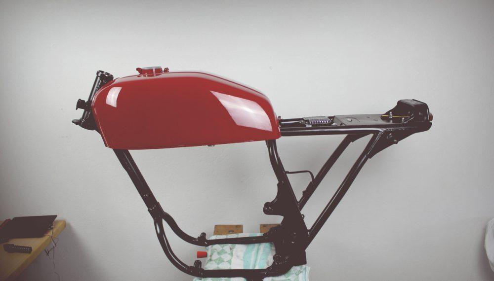 HondaCB400Four Cafe Racer 550motoNew