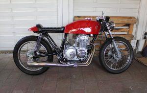 Honda CB 400 four Cafe Racer by 550moto 1