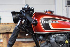 Honda CJ 250 t Cafe Racer 1