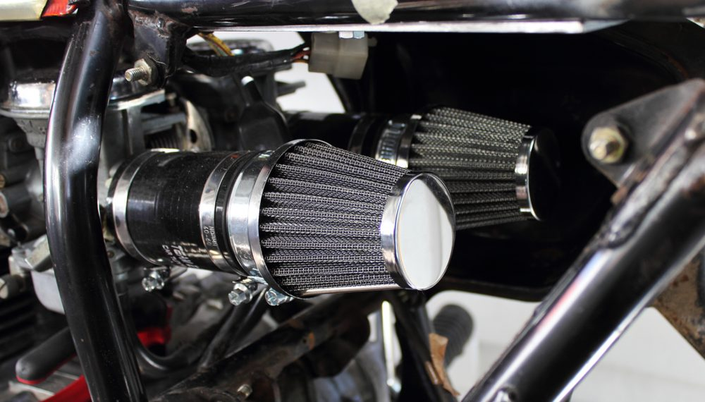 Honda CJ 250 t Cafe Racer Luftfilter2