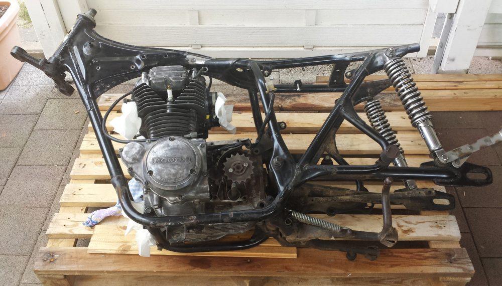 HondaCJ250CafeRacer
