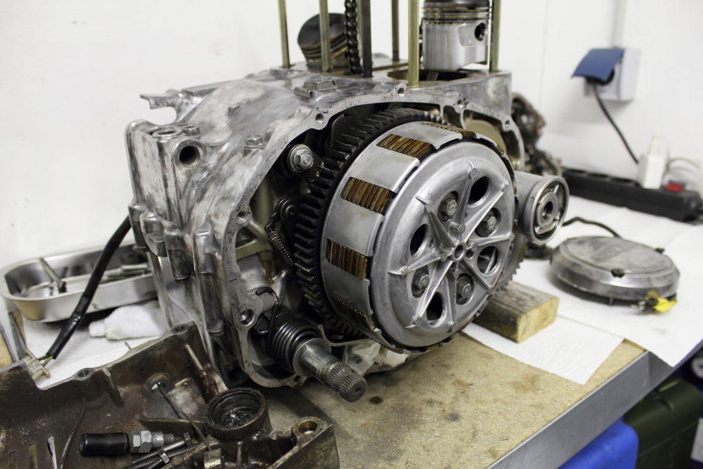 Honda CJ 250 t Motor 550Moto1