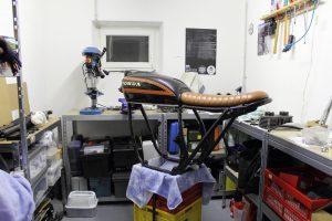 Honda CB 550 K3 Cafe Racer Werkstatt 550moto 1