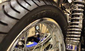 Honda CB 400 four Speichenfelgen Cafe Racer