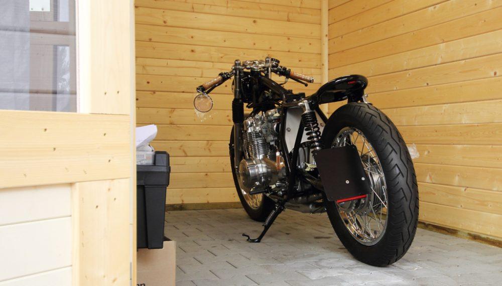 Honda CB 550 K3 Cafe Racer Brat Umbau 550moto 1
