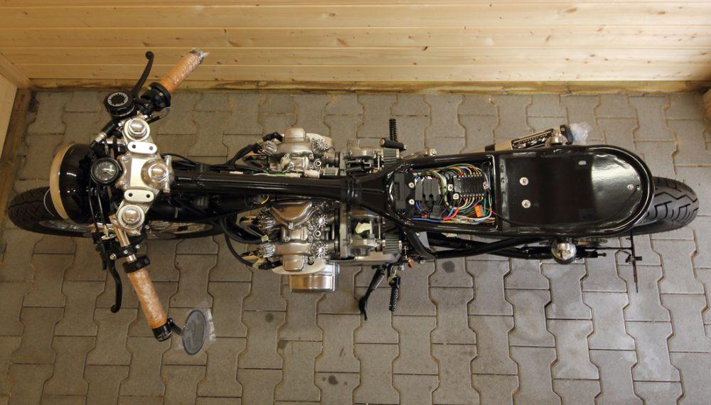 Honda CB 550 K3 Cafe Racer Brat Umbau 550moto