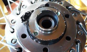 Honda CB 550 Adapter für 2 Bremsscheibe