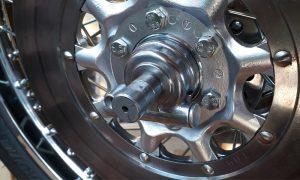 Honda CB 550 Adapter für 2 Bremsscheibe Tachoschnecke