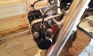 Honda CB 550 Umbau 2. Bremsscheibe Cafe Racer