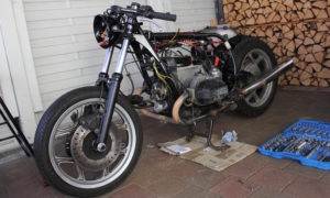 BMW R100RT Cafe Racer Kabelbaum