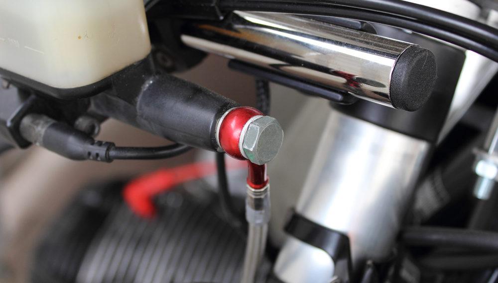 BMW R100RT Cafe Racer 550moto Stahlflex Bremsleitung