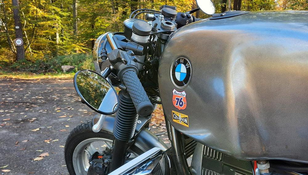 BMW R100RT Cafe Racer Stummellenker Telefix 38,5 550moto
