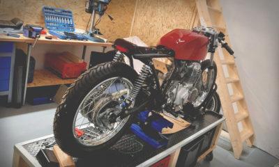 Honda CB 400 four Cafe Racer 550moto