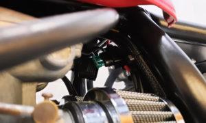 Honda CB 400 four Cafe Racer Frame Fuse
