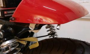 Honda CB 400 Cafe Racer Höcker Blinker Kellermann Atto Dark