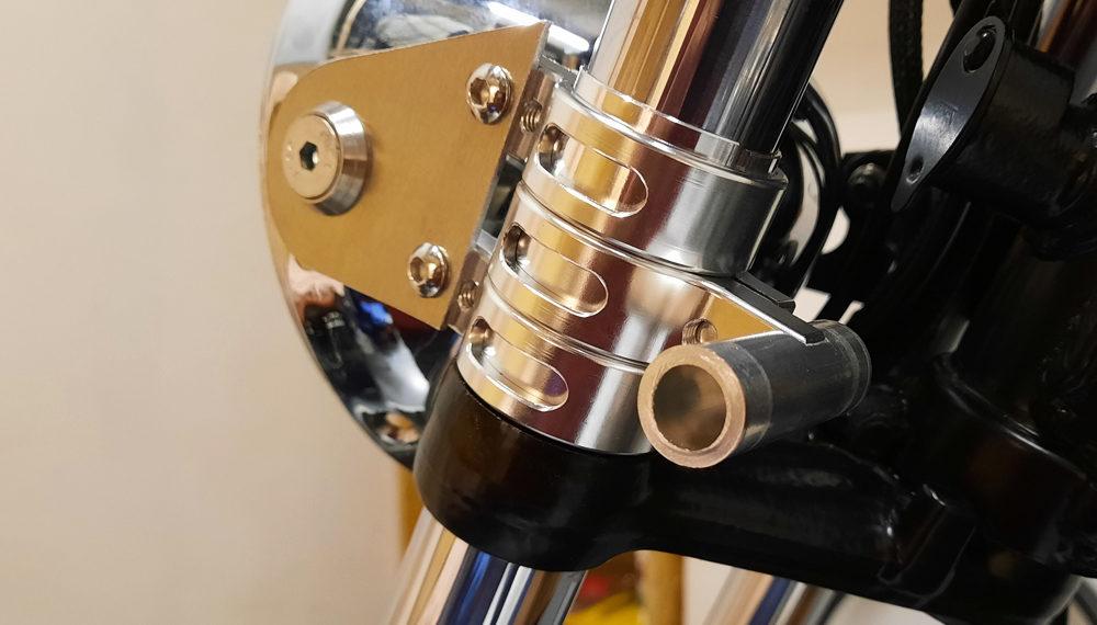 Honda CB 400 Lampenhalter Cafe Racer 1