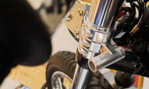Honda CB 400 Lampenhalter Cafe Racer 2