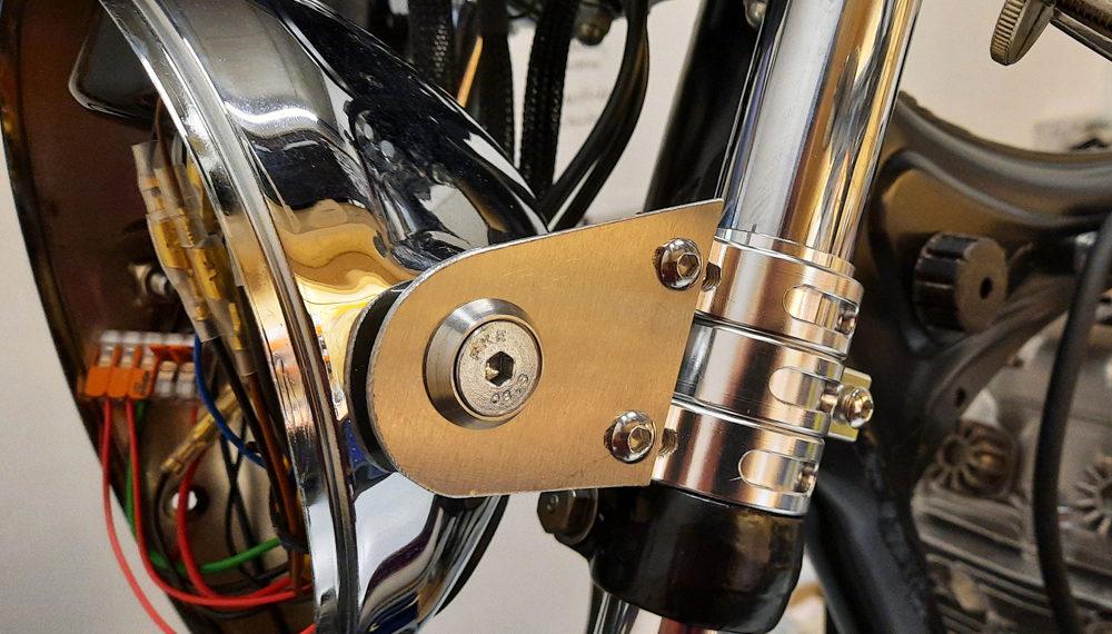 Honda CB 400 Lampenhalter Cafe Racer 6