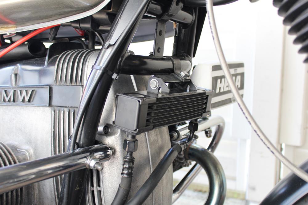 BMW R100 Ölkühler Cafe Racer