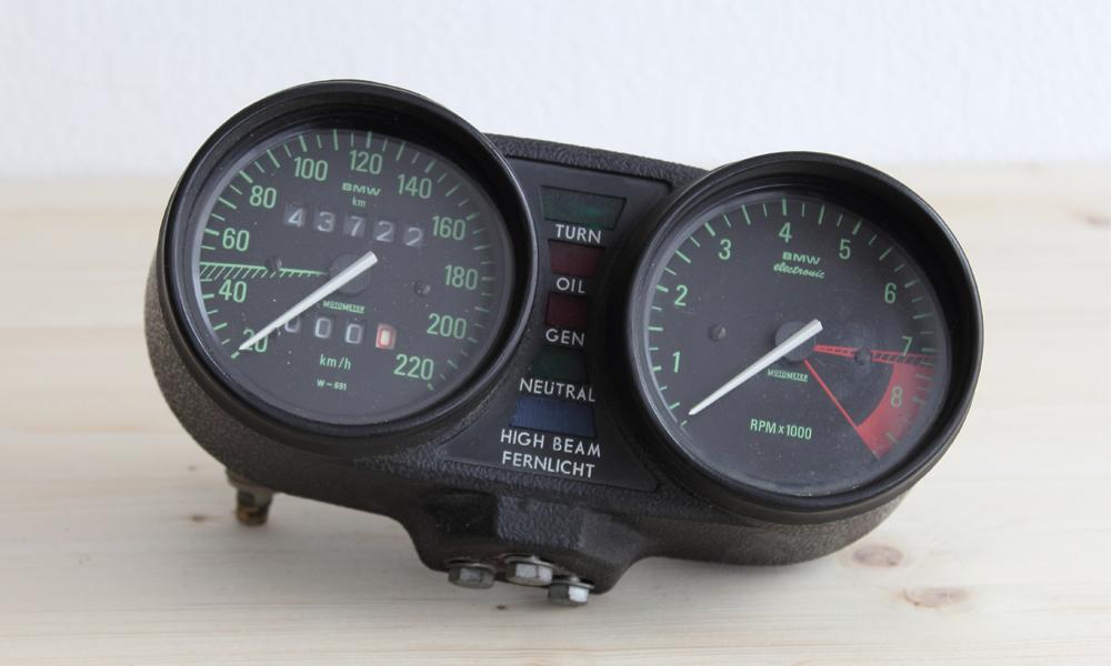 BMW R100RT Tacho